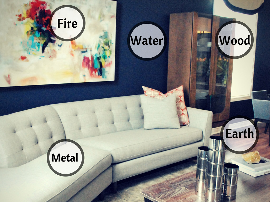 How to design using the five elements two design case for Feng shui metal element decor