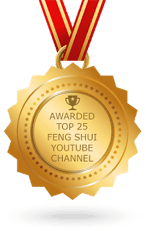 Top 25 Feng Shui Youtube Channels Award